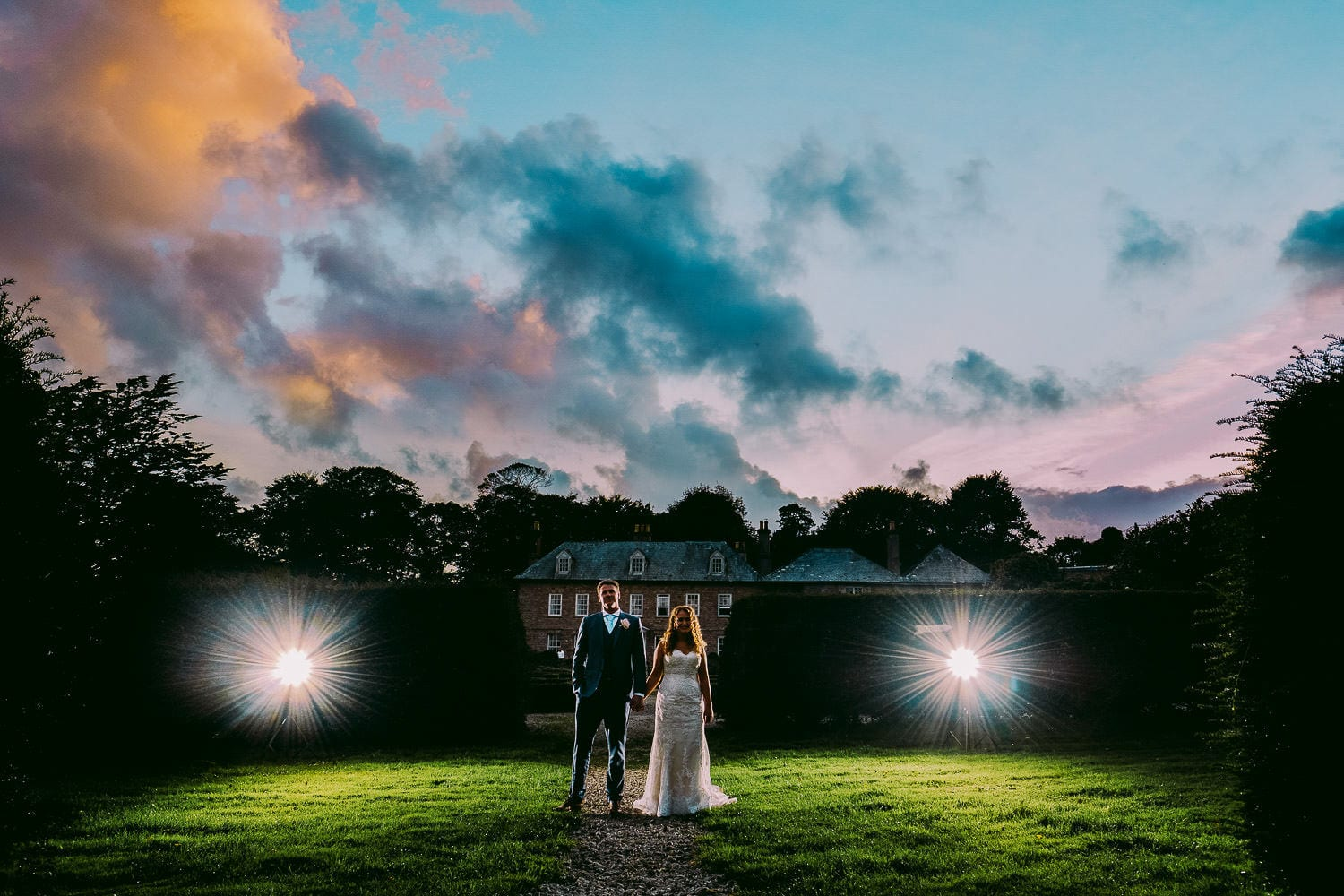 Trereife house wedding photography