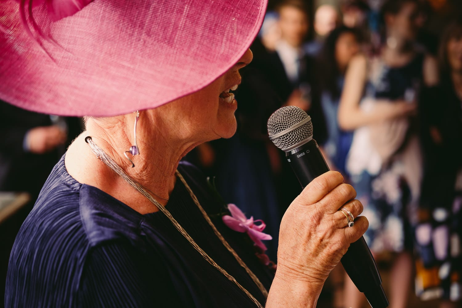 The mother of the bride's speech