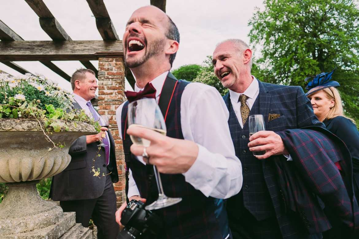 same sex wedding at Rockley Manor