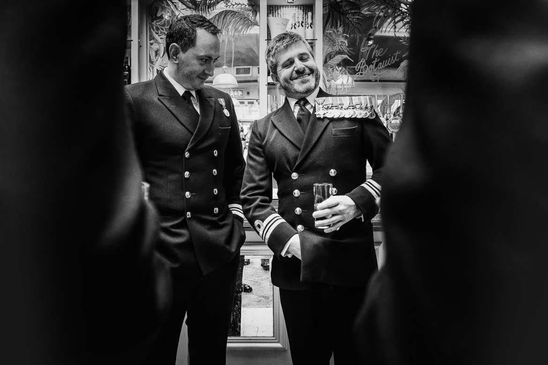 military wedding photography