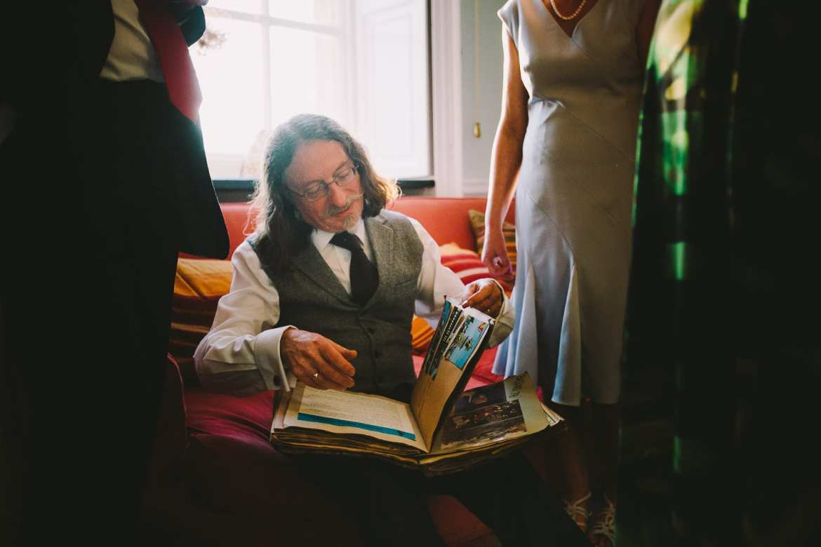 brides father reading