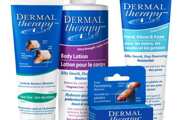 Dermal Therapy Product Label Designs