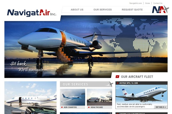 NavigatAir Website Cover