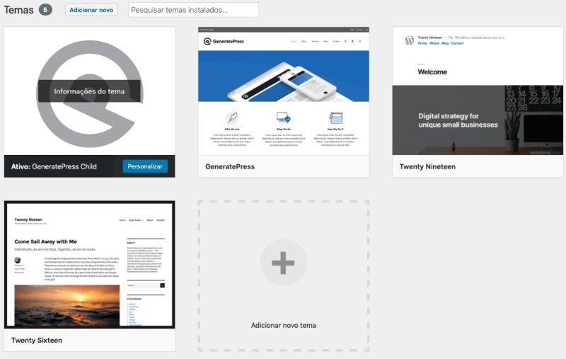 Primeiros passos no WordPress – Configurações e Plugins