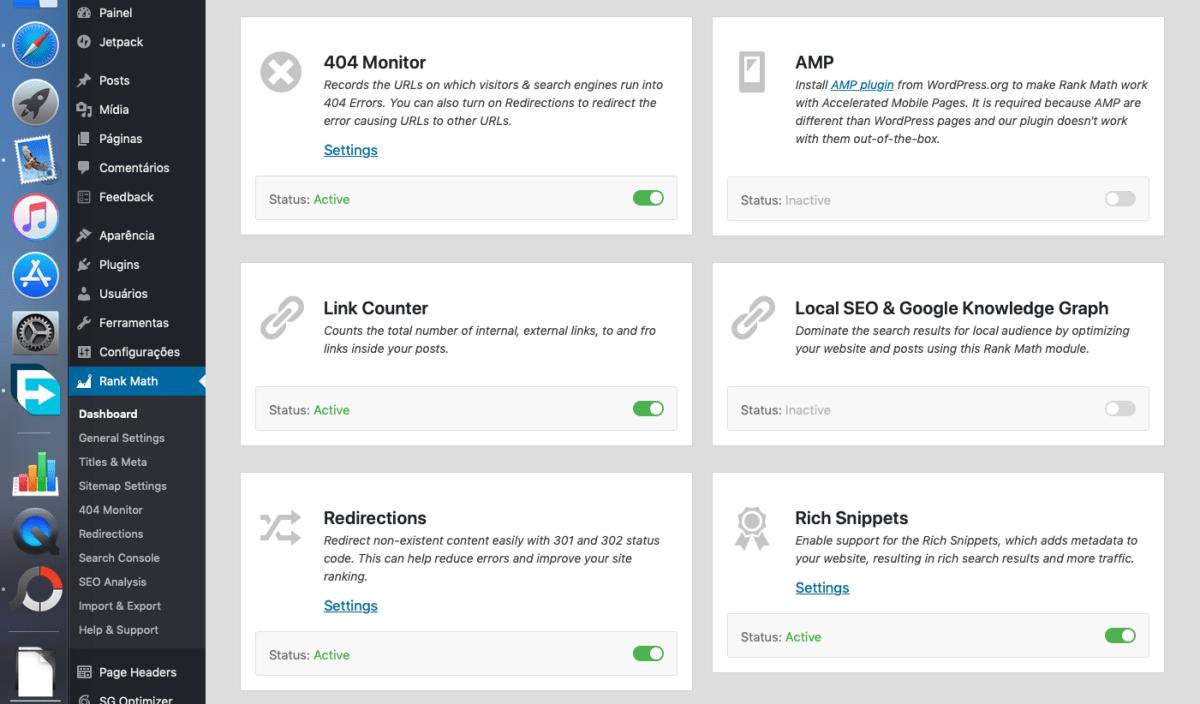 Rank Math - O melhor Plugin de SEO gratuito All in One para seu site