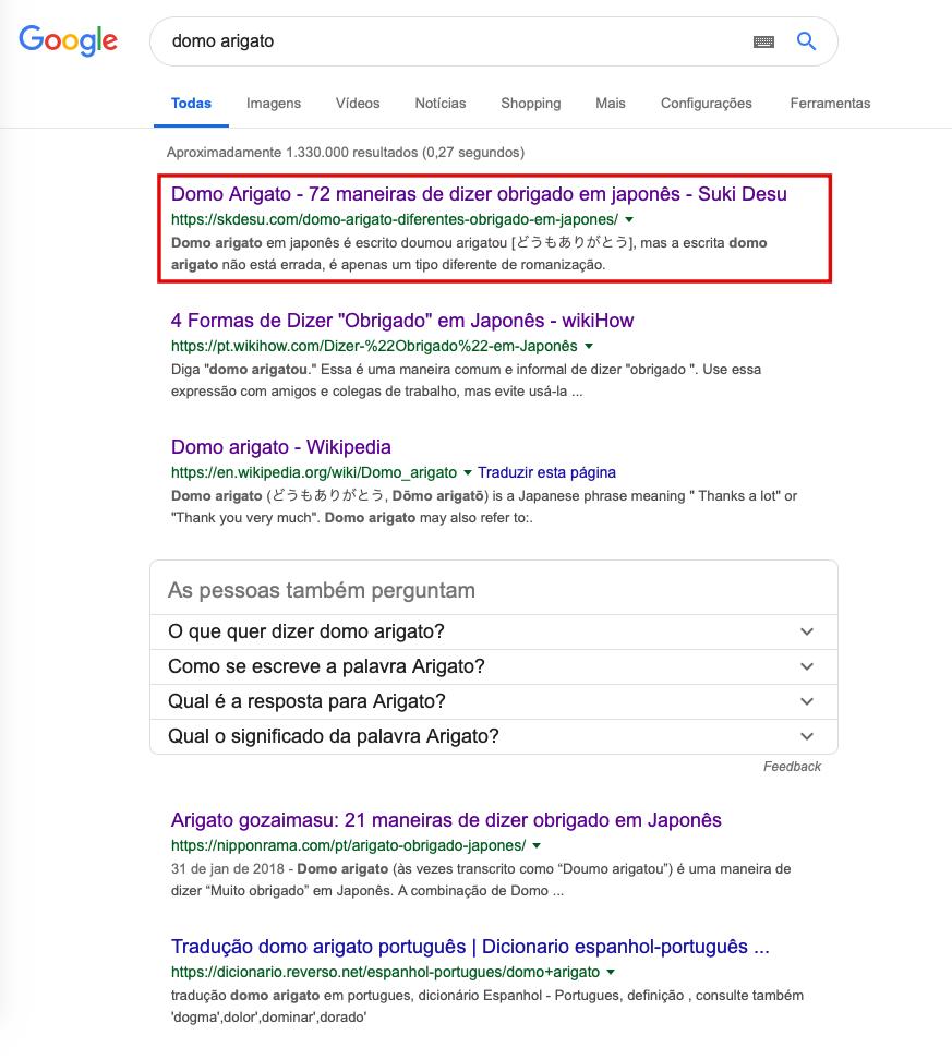 Posicionando artigos em primeiro no google