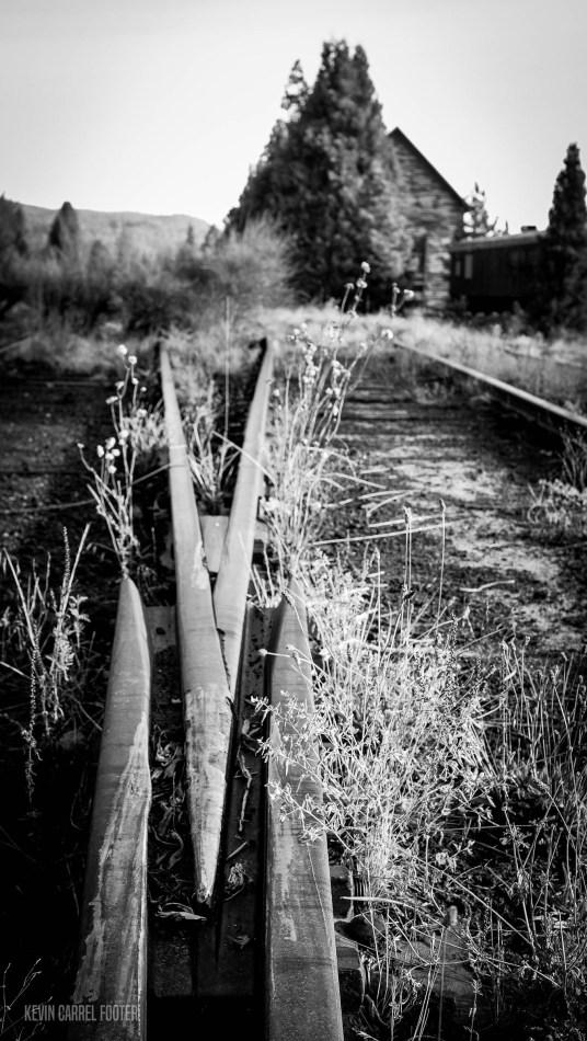 Train Siding, McCloud, CA