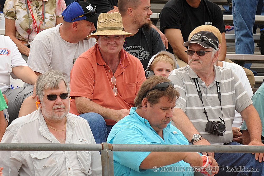father watches from stands