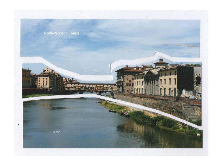 Photographic cut-out 3 Ponte Vecchio. After Matisse