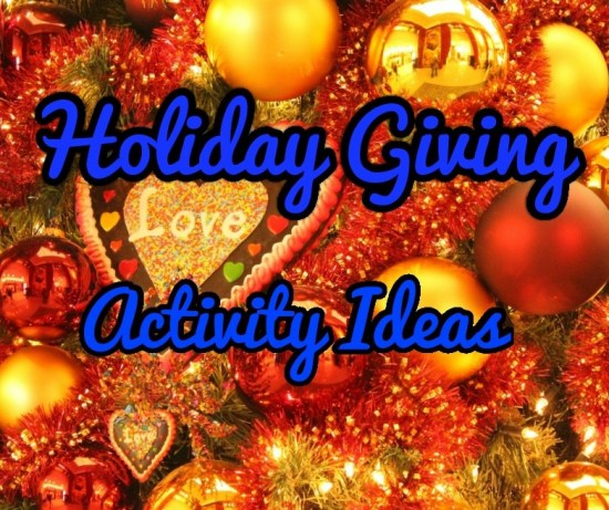 holiday giving activities image
