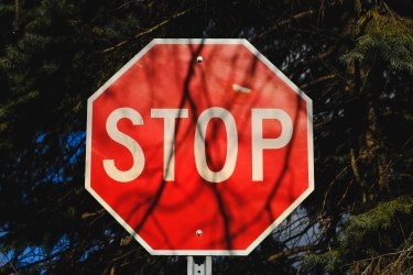 image of stop sign