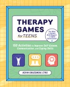 image of book cover for therapy games for teens