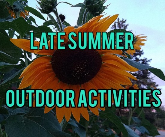 late summer outdoor activities title image