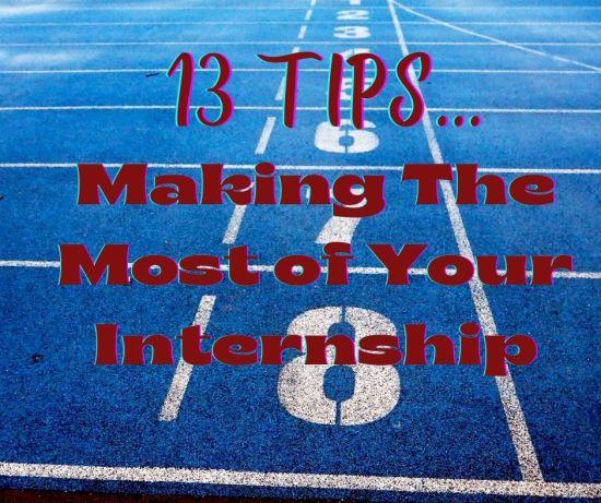 13 internship tips cover photo