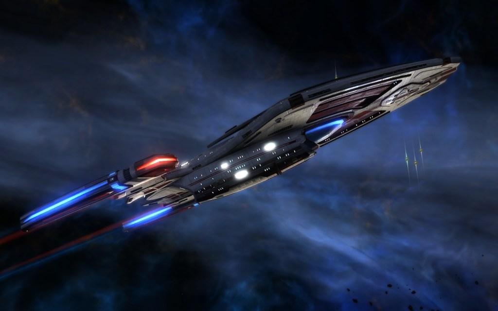 a tier six long range science vessel