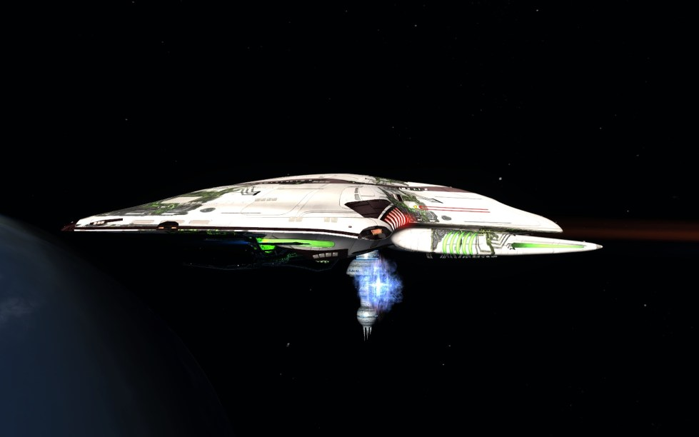 the Dauntless - Tier six Experimental science vessel... modified..