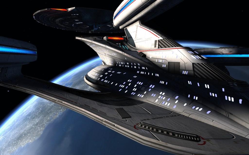 STAR TREK ONLINE _ fleet tier six yamato dreadnought class Saucer seperation