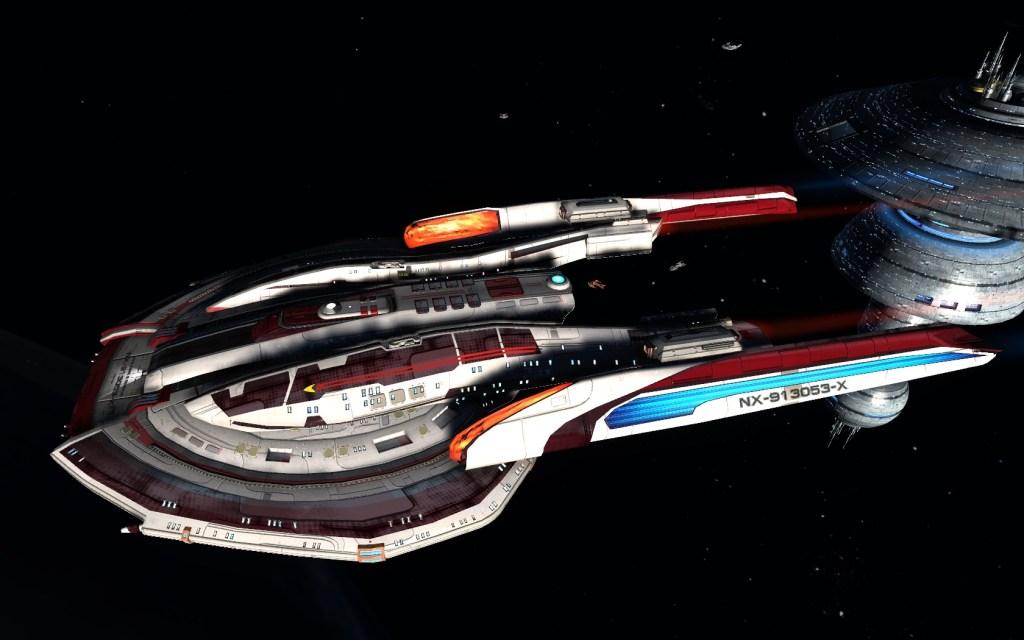 STAR TREK- ONLINE-BEYOND   my take on the modern USS Franklin – meet USS Anne Bree Franklin...