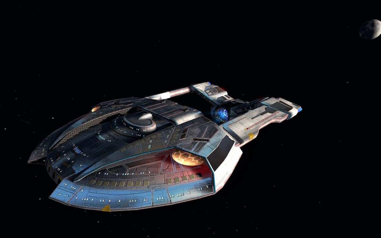 STAR TREK ONLINE | #STEAMRUNNER – The tier five Blockade Runner Escort ……