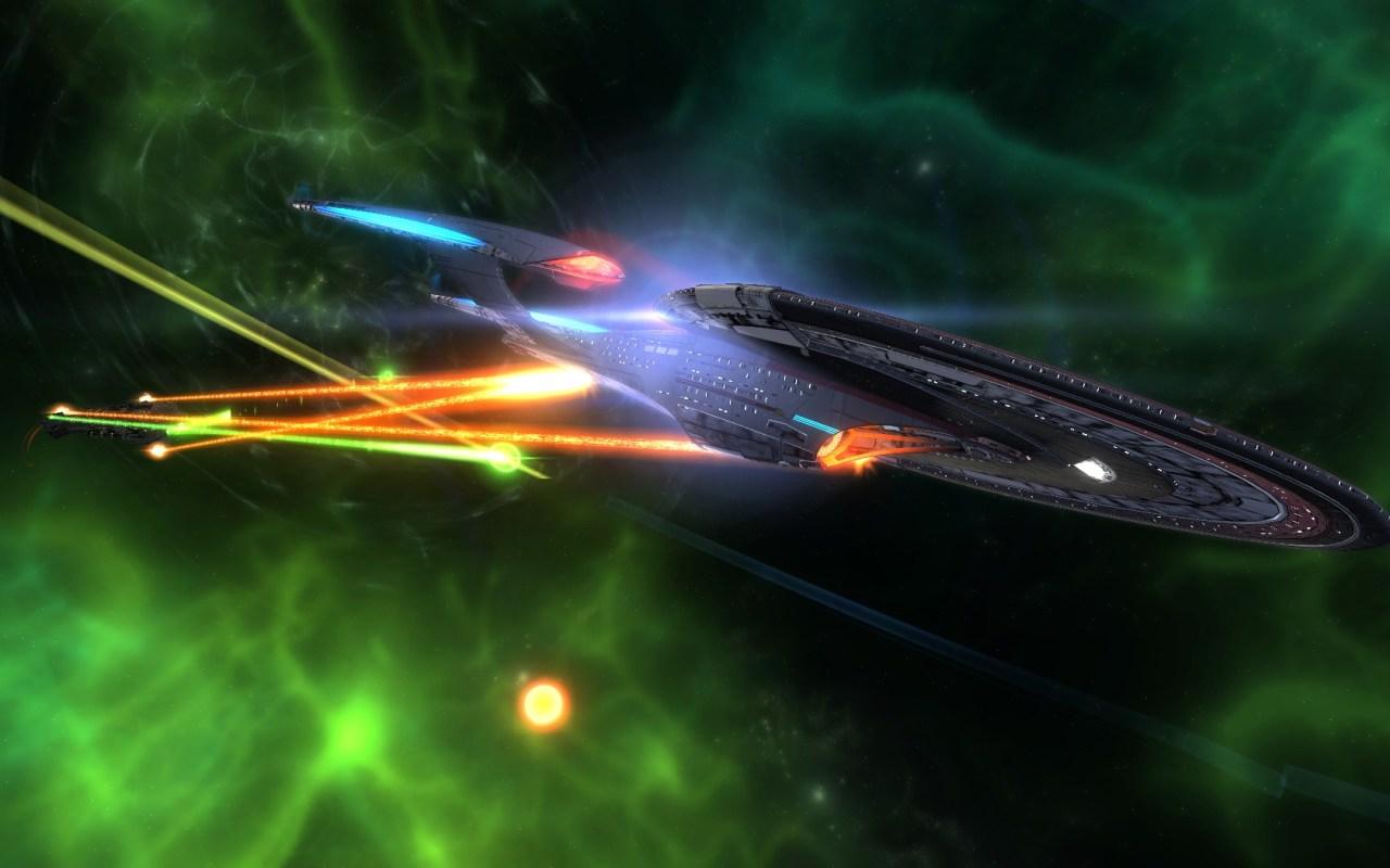 STARTREKONLINE | Tier six- Intel Assault Cruiser- Archon Class- The daughter of the sovereign with Regent warp nacelles......Photographer @KevinJamesNg