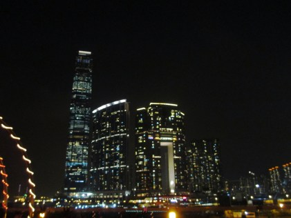 Among with In between view with Timeless romantic night time city landscape is when after sunset the building lights lights up with life..