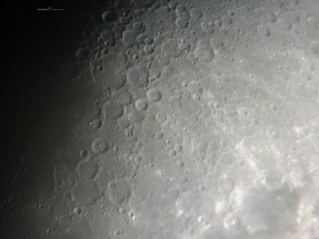 The Terminator reveals the Crater Ptolemaeus..