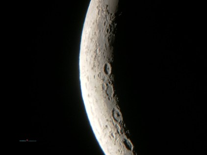 those craters could encompass cities..