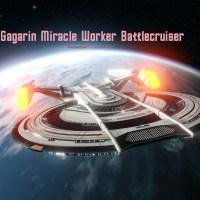#StarTrekOnline | #StarTrekDiscovery |#AgeOfDiscovery - #GagarinMiracleWorkerBattlecruiser the Daughter of #ShepardClass...