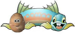 two headed fish and potato.jpg