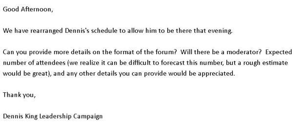 Denny Response to Douglas Campbell