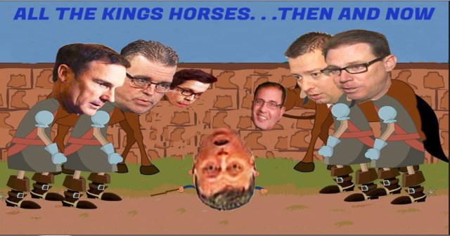 All the Kings Horses Graphic