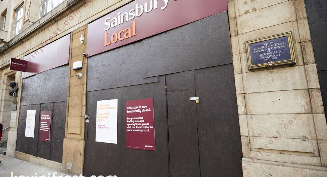 Sainsbury's Local Fleet Street.
