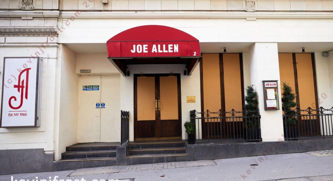 Joe Allen Restaurant.