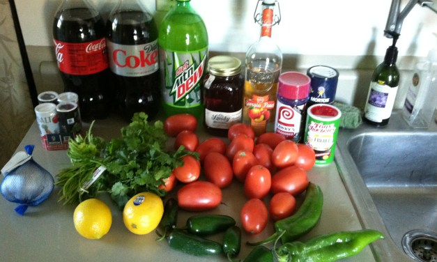 My Best Fresh Salsa Recipe for the Four Hour Diet