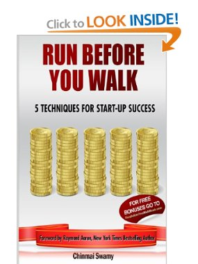 Pic of book: Run Before You Walk