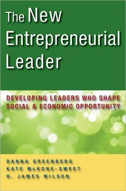 Pic of book: The New Entrepreneurial Leader