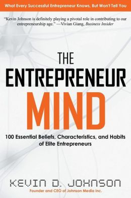 Pic of book: The Entrepreneur MInd