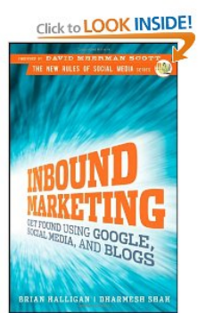 Pic of book: Inbound Marketing