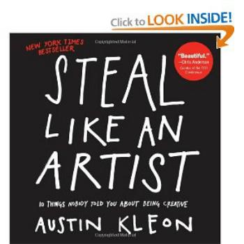 Pic of book: Steal Like An Artist