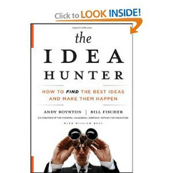 Pic of book: The Idea Hunter