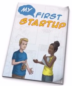 My First Startup Kids Comic Book
