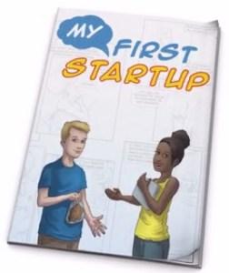 My First Startup Kids Comic Book
