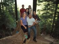 Group shot at Gold Creek lookout