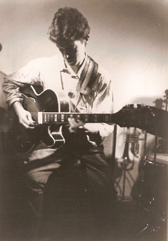 Sean Levitt (1) at Blue Note Cafe Murcia 1989-90