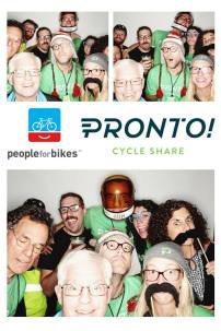 Some of the Pronto team celebrating at the Launch event on October 23rd. That's me with the space helmet.