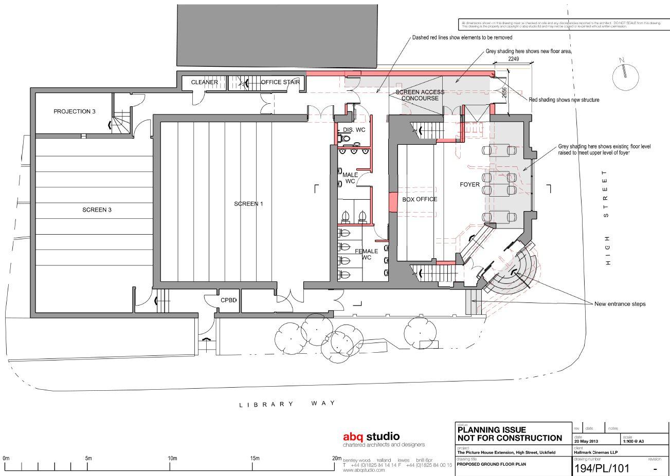 Ground Floor Plans Cinema Owner Confidential