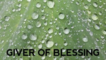 Giver of Blessing