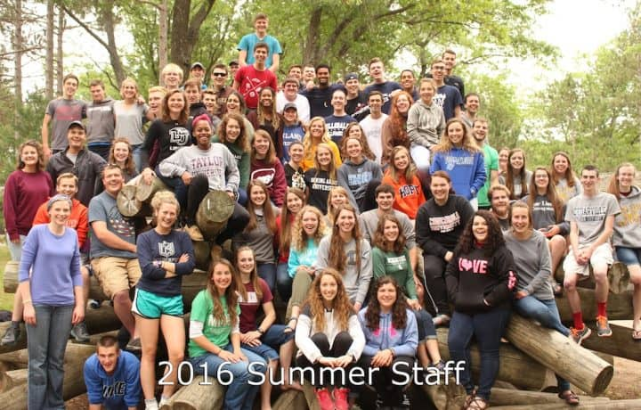 Camp Barakel 2016 Summer Staff