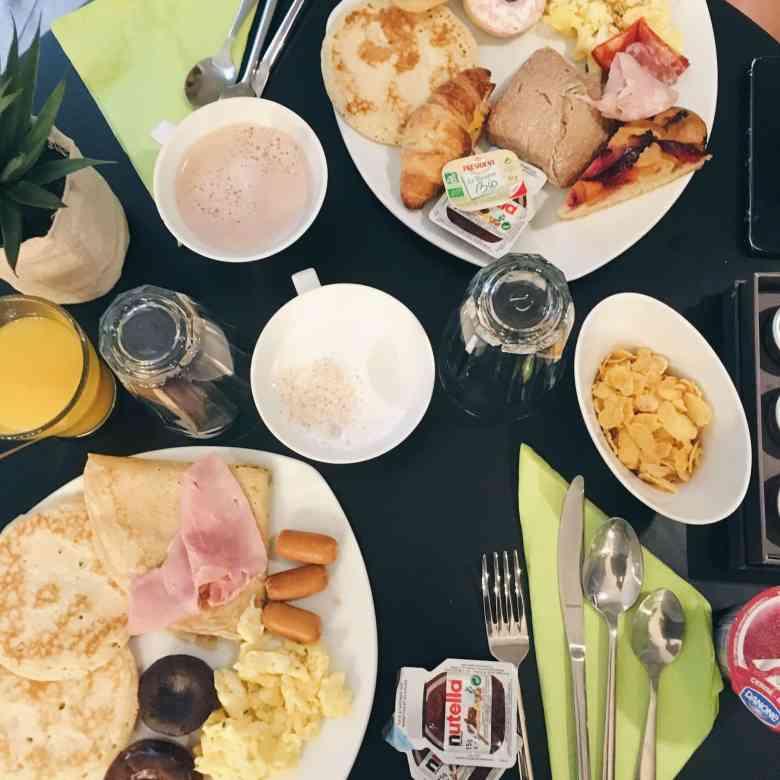 petit déjeuner instagraml
