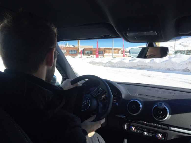 Conduite sur neige Audi Q5